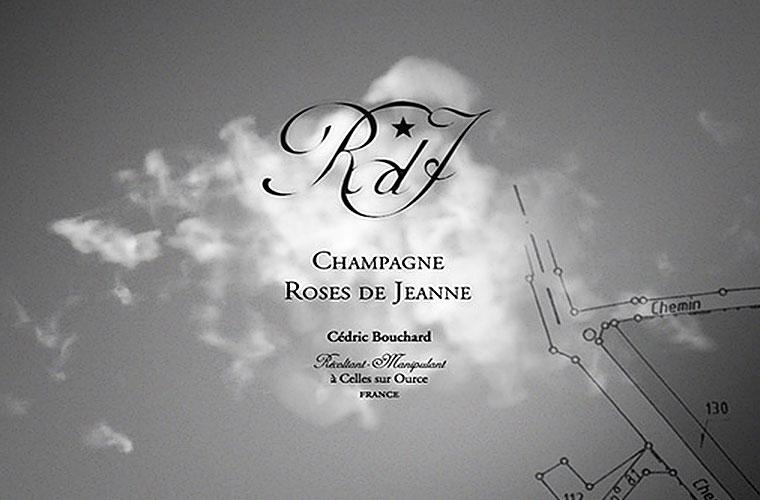 champagne roses de jeanne